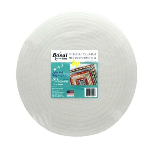 Bosal White Katahdin On a Roll 100% Organic Cotton Wadding